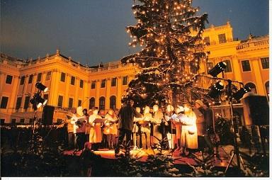 Concert de Noël à Vienne - décembre 1995