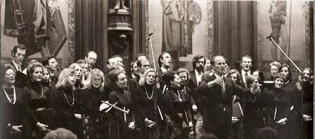 Hôtel de ville de Bruxelles - décembre 1975